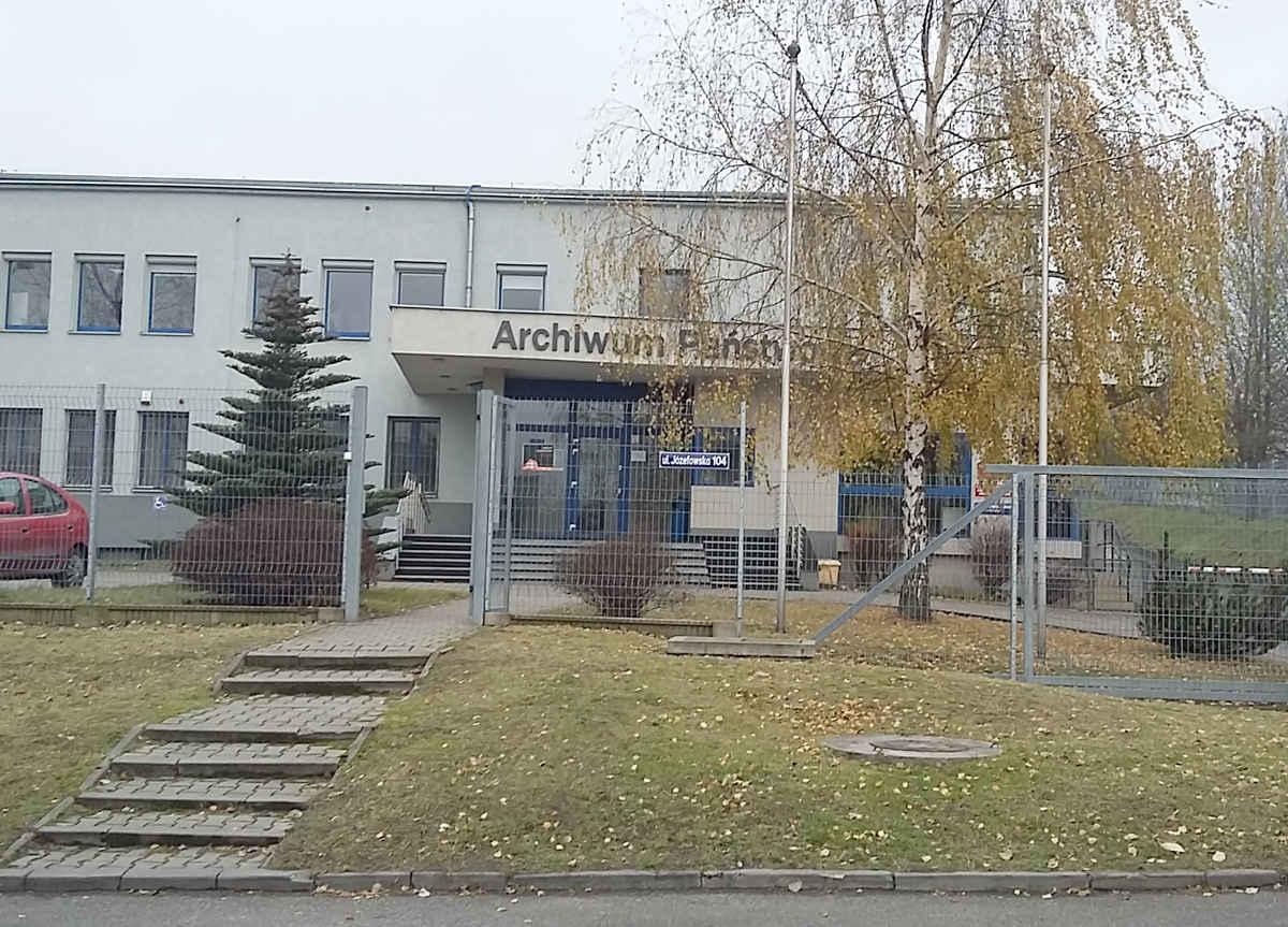 Staatsarchiv Kattowitz - das Gebäude