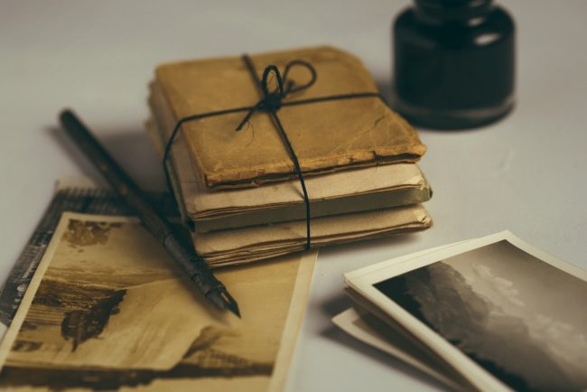Alte Dokumente Familienarchiv